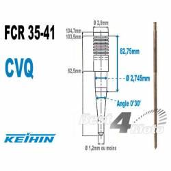 AIGUILLE CARBURATEUR KEIHIN FCR SERIE 35-41 TYPE CVQ