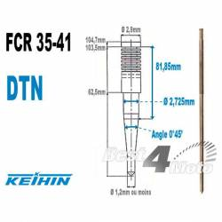 AIGUILLE CARBURATEUR KEIHIN FCR SERIE 35-41 TYPE DTN