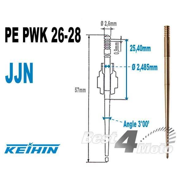 Valve /à aiguille POLINI pour carburateur PWK 28
