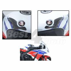 SLIDERS DE RESERVOIR CARBONE R&G HONDA CBR1000RR 12-15