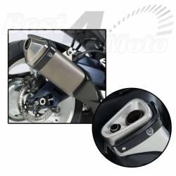 PROTECTION R&G POUR SILENCIEUX APRILIA RSV4 RF/RR CF MOTO 650i HONDA CBR125R SUZUKI GSR750 GSX-R750