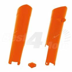 PROTECTION de FOURCHE orange RACETECH KTM SX/SXF 08-14 EXC/EXCF 08-15