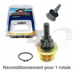 KIT RECONDITIONNEMENT ROTULE de TRIANGLE SUPERIEUR CAN-AM OUTLANDER 400/500 KAWASAKI PRAIRIE 650/750 YAMAHA YFM250