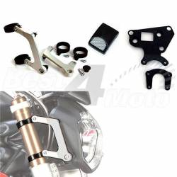 KIT SUPPORT OPTIQUE URBAN LSL + SUPPORT INSTRUMENT TRIUMPH STREET TRIPLE 675/R 08-12