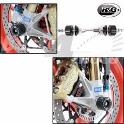 PROTECTION de FOURCHE R&G Racing APRILIA RSV4 RR/RF Tuono V4 1100