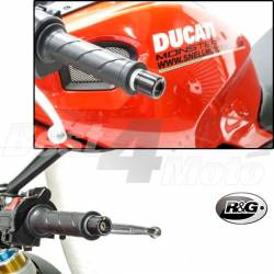 EMBOUTS GUIDON R&G DUCATI 848 1098 STREETFIGHTER MONSTER 1100
