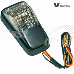 FEU ARRIERE type Honda XR LED universel 10.5x5.5