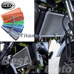 PROTECTION de RADIATEUR Titane R&G Kawasaki NINJA 650 Z650