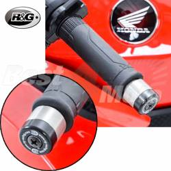 EMBOUTS GUIDON R&G Honda CBR400 CB600 CBR600RR CBR1000RR