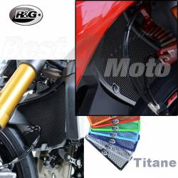 PROTECTION de RADIATEUR Eau R&G Titane Ducati SUPERSPORT MONSTER 821/1200