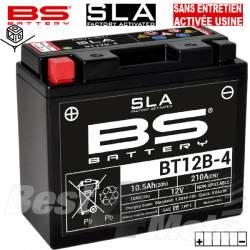 YT12B-BS/YT12B-4 BATTERIE BS BT12B-4 SLA Pret à l'emploi Sans Entretien Activée Usine