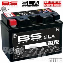 YTZ12-S BATTERIE BS BTZ12S SLA Pret à l'emploi Sans Entretien Activée Usine