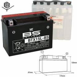 BATTERIE BS BTX15L-BS/YTX15L-BS