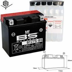 BATTERIE BS BTZ7S-BS Sans Entretien avec Pack Acide