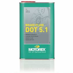 BRAKE FLUID  DOT 5.1 1L - MOTOREX