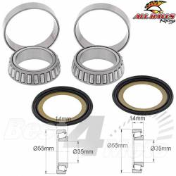 Kit ROULEMENTS Colonne de Direction Kawasaki Aprilia Ducati Moto Guzzi