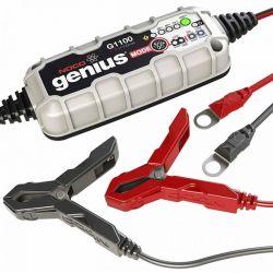 CHARGEUR BATTERIE Genius G1100 lithium 6/12V 1,1A 40Ah NOCO