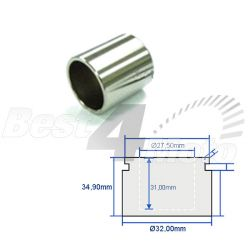 PISTON ETRIER de FREIN Honda Ø32x35mm Arriere CB125R XL125 Varadero GL1500 Goldwing