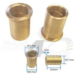 BAGUES de BRAS OSCILLANT Bronze Honda XR500 Ø26,7xØ21,7x38,2mm