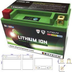 YTX9-BS Batterie LITHIUM Ion SKYRICH HJTX9-FP sans entretien