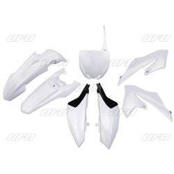 Kit PLASTIQUE UFO Couleur Blanc YAMAHA YZ65