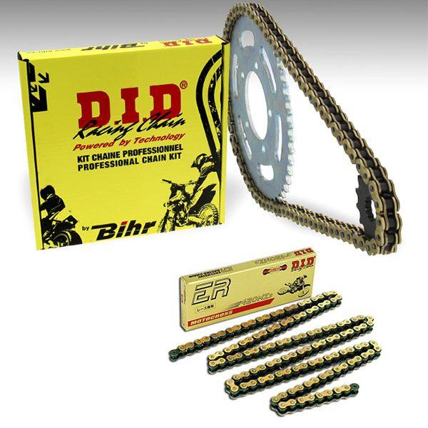 Kit chaine D.I.D 420 14/47 type NZ3 couronne ALU ULTRA-lIGHT Yamaha YZ 65