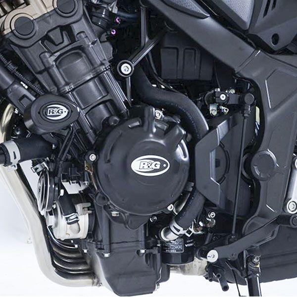 COUVRE CARTER Gauche ALTERNATEUR R&G Honda CB650F CB650R CBR650F