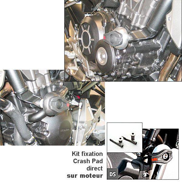 KIT Fixation CRASH PAD LSL Honda CB1000R