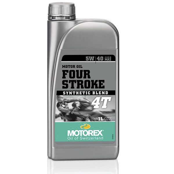 Huile moteur MOTOREX 4-Stroke 5W40 semi-synthétique 1L