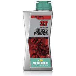 Huile moteur MOTOREX Cross Power 2T 100% synthétique 1L