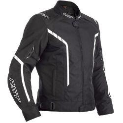 Blouson RST Axis CE textile noir/blanc homme