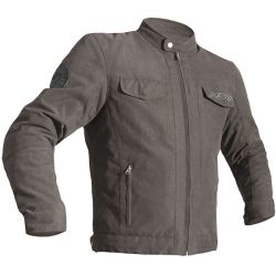 Blouson RST IOM TT Crosby textile brun/taupe homme