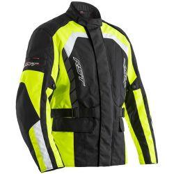 Veste RST Alpha 5 CE textile noir/jaune homme