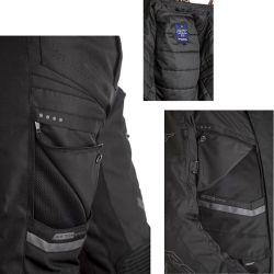 Veste RST Maverick CE textile noir homme