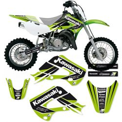 KIT DECO DREAM GRAPHIC 4 BLACKBIRD Kawasaki KX65