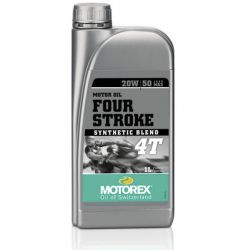 Huile moteur MOTOREX 4T - 20W50 semi-synthetique 1L