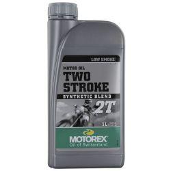 Huile moteur MOTOREX 2T semi-synthetique 1L