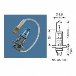 AMPOULE projecteur H1 OSRAM Culot P14,5S
