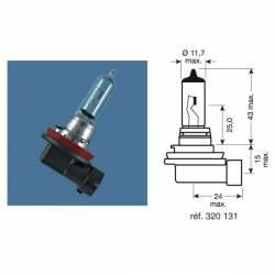 AMPOULE projecteur H8 OSRAM Culot PGJ19-1