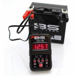 TESTEUR BATTERIE BS BST50 pour BATTERIES de 7V à 15V - 2.5Ah à 30Ah