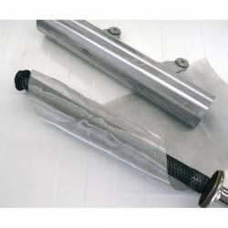 TOILE INOX TRESSE 500mmX220mm 800°