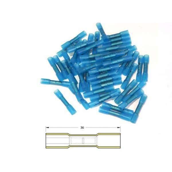 cosse a sertir bleu thermoretractable 0 5 1 5 sachet x50 bihr. Black Bedroom Furniture Sets. Home Design Ideas