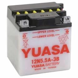 BATTERIE YUASA 12N5.5A-3B