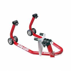 BEQUILLE AVANT REGLABLE avec Support Rouleaux BIKE LIFT