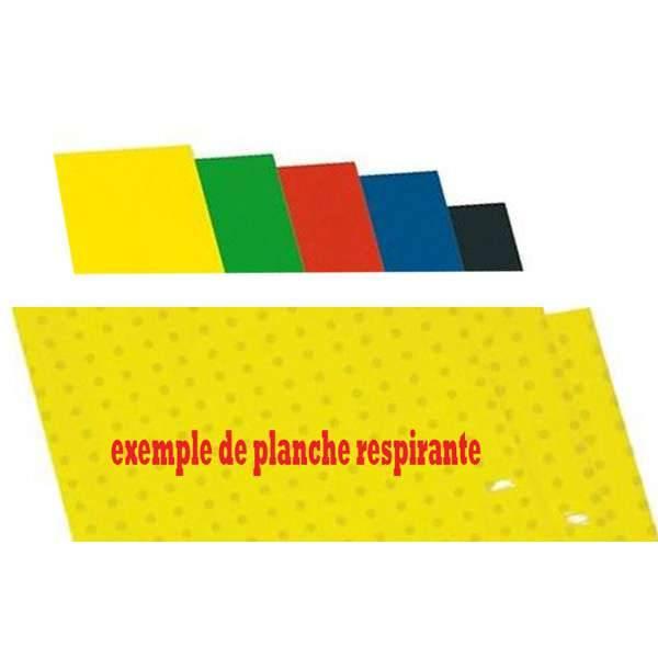 PLANCHE ADHESIVE RESPIRANTE pour RESERVOIR PLASTIQUE 470x330mm par 3