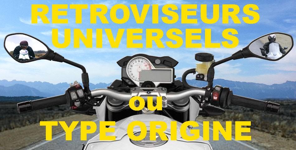 Rétroviseur moto, scooter et quad